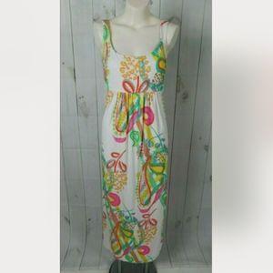 Mary Ellen Multicolor Maxi Dress